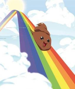shit rainbow